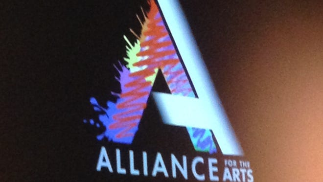 The new logo for the Lee County Alliance for the Arts.