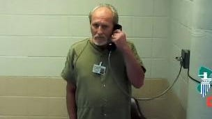 Robert J. Herburger seen in a virtual court hearing on Aug. 28 from the Morris County Jail.
