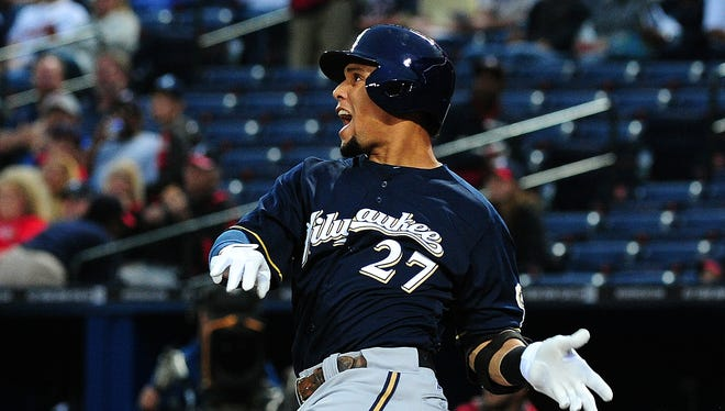 """After homering off Paul Maholm on Sept. 25, Carlos Gomez gave new meaning to the term """"pimping.''"""