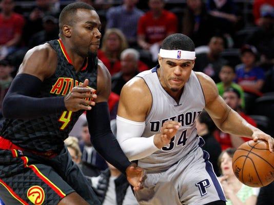 NBA: Atlanta Hawks at Detroit Pistons