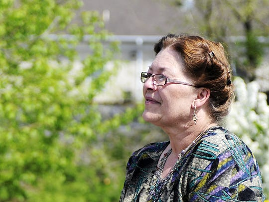 """Dede Stroup, a prepper who lives in Fulks Run seen in this April 27, 2013 photo, advises people to be ready for emergencies big and small. """"We tend to rely too much on someone else,"""" she says, but need to learn our own skills."""