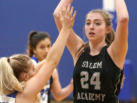 Sydney Brown (24), Salem Academy.