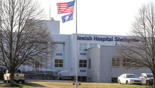 Jewish Hospital Shelbyville, Kentucky.March 2, 2017