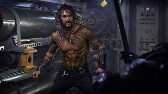 """""""Aquaman"""" marks the first solo film for Jason Momoa's"""