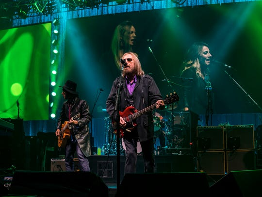 Tom Petty and the Heartbreakers performing live at