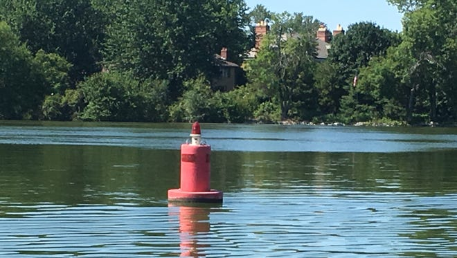 The Winnebago County Parks Department maintains 123 navigational buoys.
