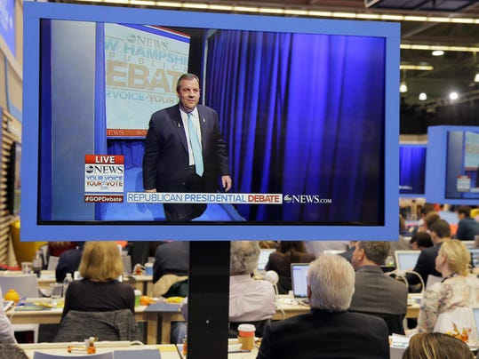 The debate featured Chris Christie and other low-polling candidates ...