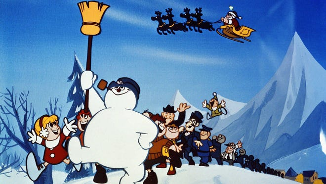 """""""Frosty the Snowman"""" airs at 8 p.m. Friday on CBS, followed by """"Frosty Returns."""""""