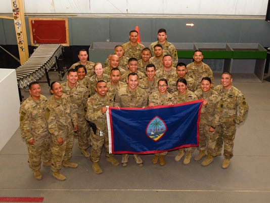 A long way from home: Guam sentinels serve in Afghanistan