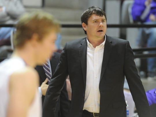 ACU coach Joe Golding looks on as his team plays Arlington