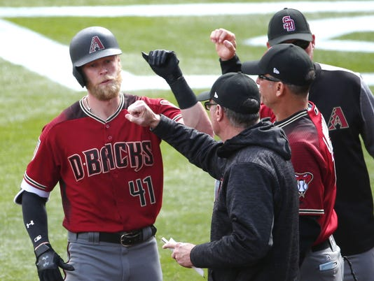 MLB: Spring Training-Arizona Diamondbacks at Colorado Rockies