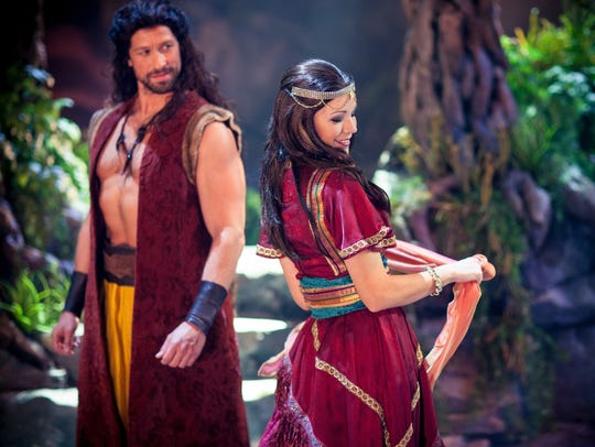 "A recent publicity photo for ""Samson,"" a musical production"