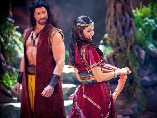"A recent publicity photo for ""Samson,"" a musical production"