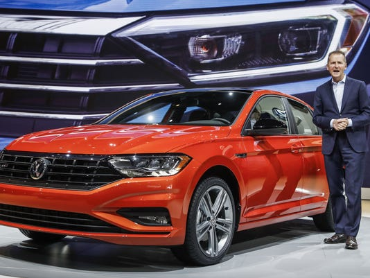 North American International Auto Show Detroit Usa 15 Jan 2018