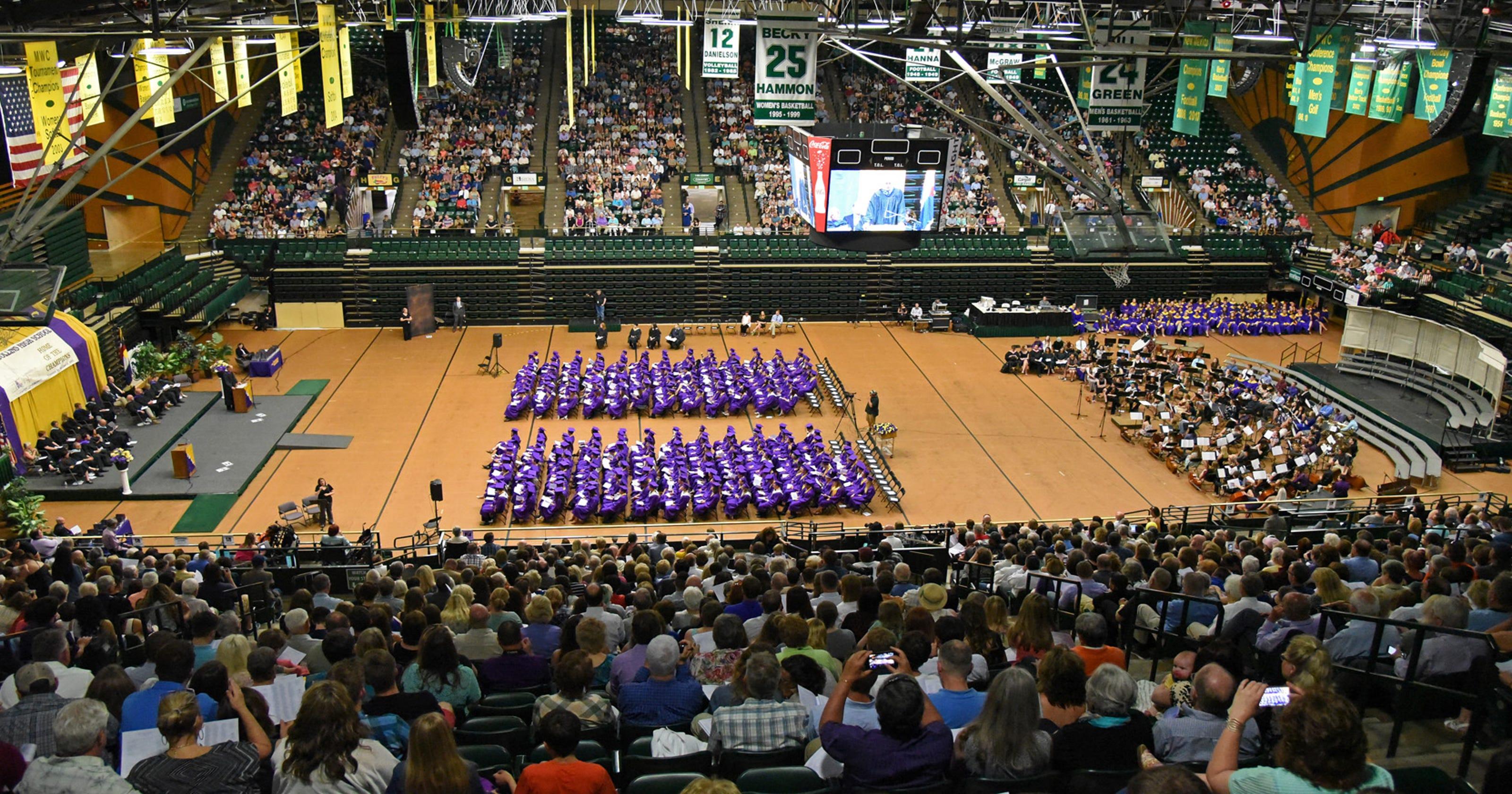 Fort Collins High School Graduation