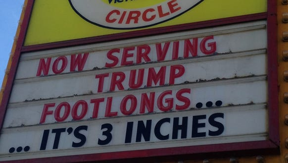 The Weiner's Circle sign in Chicago.