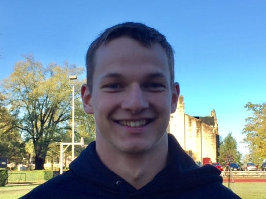 Talan Saylor, a freshman from Illinois, is enrolled