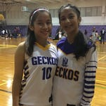 Geckos defeat Panthers in girls' basketball