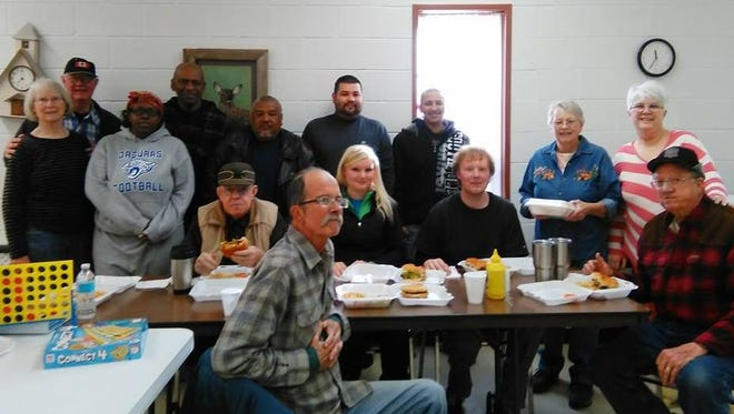 Holiday travelers from as far as Kansas were stranded in Carrizozo. Almost 50 people were housed and fed while they waited for roads to open.