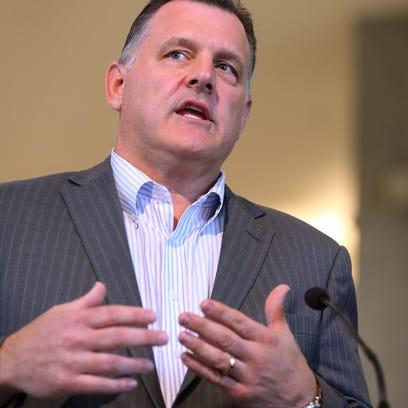 USA Gymnastics President Steve Penny resigns