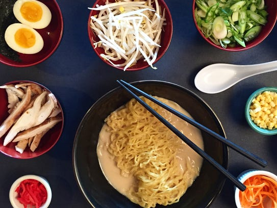 You can get delivery from Roc N Ramen in New Rochelle
