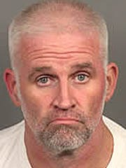 Officials arrested Mark McGowan, 47, of Palm Desert