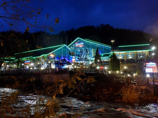 Ripley's Aquarium of the Smokies in Gatlinburg, Tenn.,