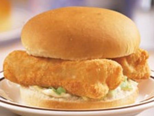 Frisch's fish sandwich