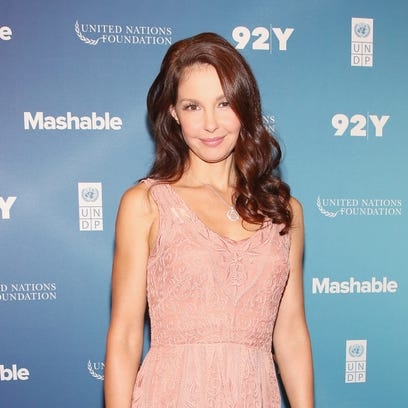 Ashley Judd attends the 2015 Social Good Summit  at 92Y on September 27.