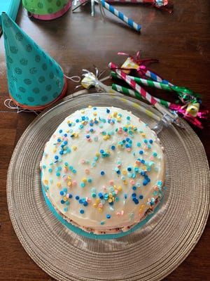Vanilla birthday cake with buttercream frosting is perfect for a summer birthday, wedding or just Sunday dinner.