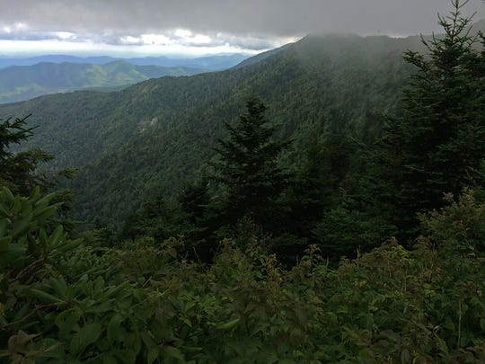Views like these from within the Black Mountains range will be available during the Aug. 6 Wilderness Society hike.
