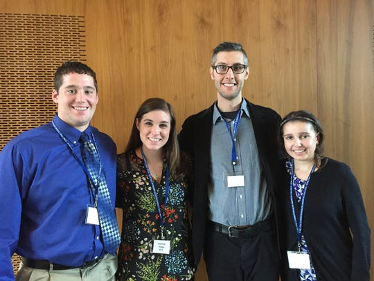 Misericordia University social work majors recently