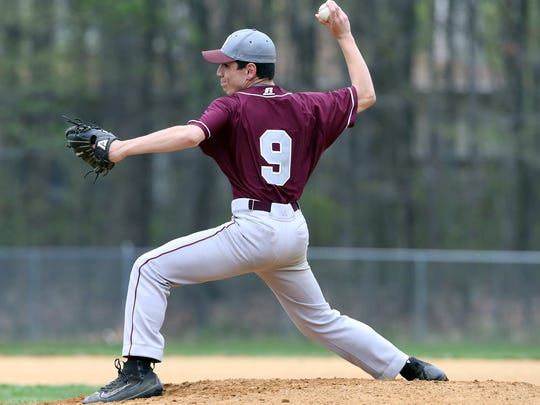 South River takes on North Brunswick in a boys varsity baseball game in North Brunswick on Friday April 22, 2016.