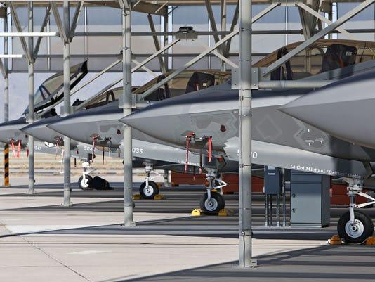 Luke Air Force Base pilot training
