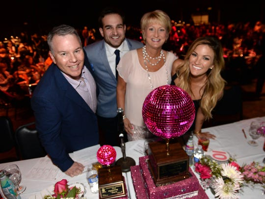 This years judges for the 2016 Susan G. Komen Dancing