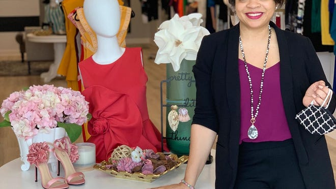 The Unique Bee Boutique owner Katrina Carrington said her buisness opened back up follow the start of Phase 1.