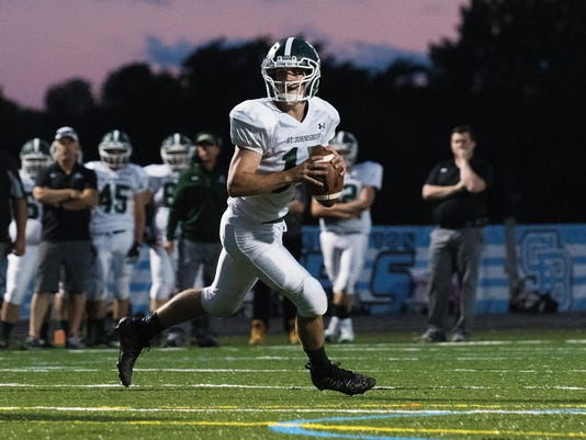 St. Johnsbury vs. South Burlington Football 09/02/16