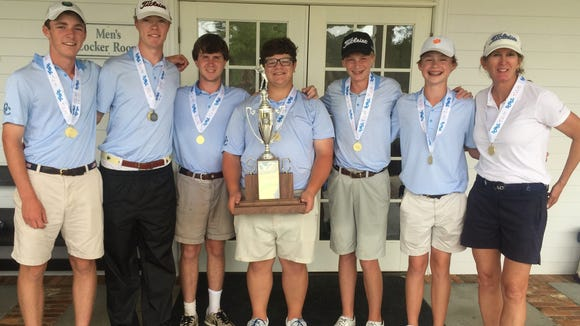 Christ Church won the Class AA boys golf state championship at Mount Vintage Golf Club in Augusta, it's sixth in a row and 18th overall.