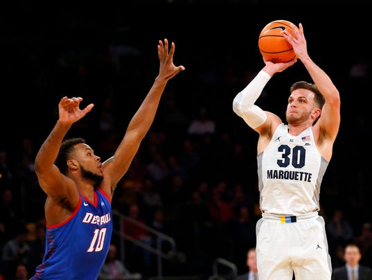 NCAA Basketball: Big East Conference Tournament-Marquette vs DePaul
