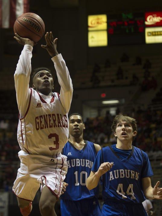 Boy's Basketball: Lee vs. Auburn 22