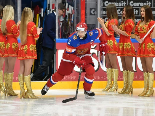 KHL: Agent - Red Wings' Datsyuk Receives Russian League Offer, But No Decision Yet