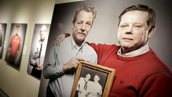"The Trout Museum of Art in Appleton opened its ""Wisconsin War Stories"" exhibit Saturday. It features a collection of photographic portraits of Wisconsin veterans that were part of Wisconsin Public Television's ""Wisconsin War Stories"" documentary."