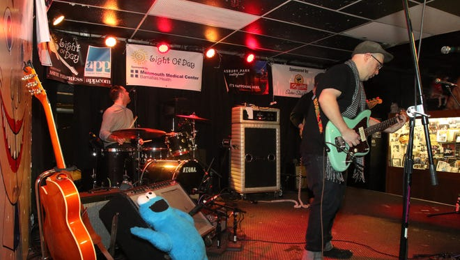 The Black Flamingos, pictured at the Wonder Bar in January, perform as part of the Asbury Park Surf Music Festival this weekend.