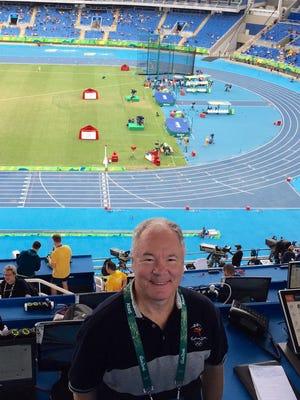 Olympics Insider David Woods at Olympic Stadium