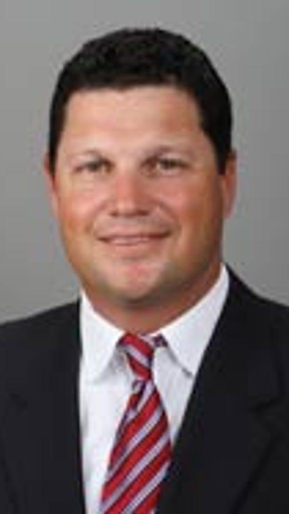 South Alabama head baseball coach Mark Calvi