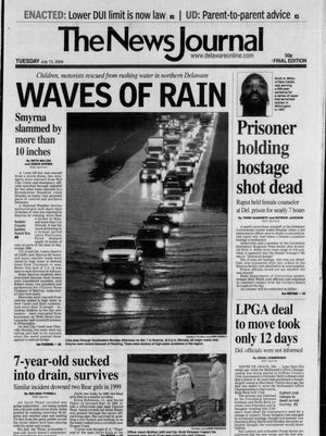 The News Journal cover from July 13, 2004.