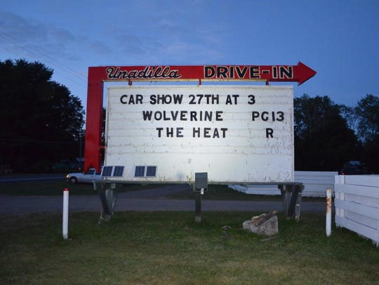 The Unadilla Drive-In offers double features of the