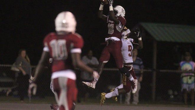 Madison County beat Florida High 49-6 on Thursday night, Sept. 7, 2017.