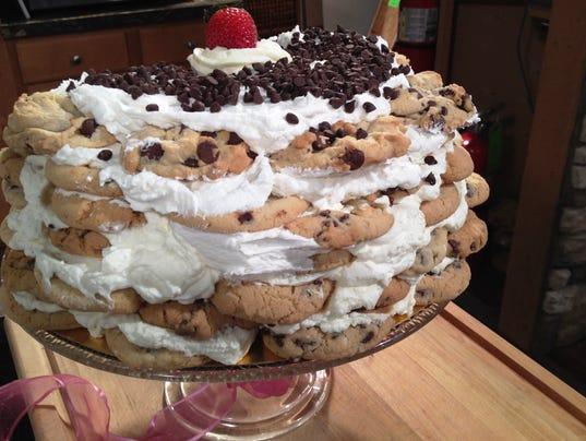 Chocolate Chip Cookie Cake (Photo: Cyndy Cass, WBIR)