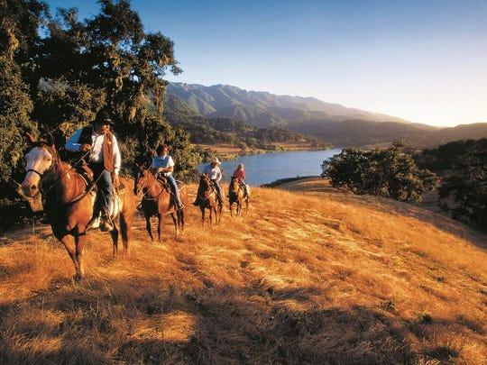 Solvang,CA_Sunset_Horseback_Ride_SolvangUSA.com (2)